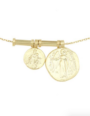 ANGELUS NECKLACE - CLEOPATRAS BLING