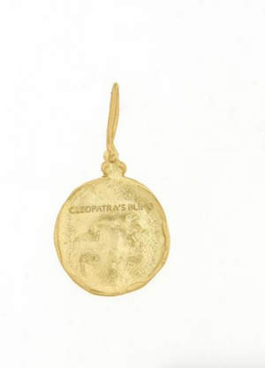 MOON FACE PENDANT - CLEOPATRAS BLING
