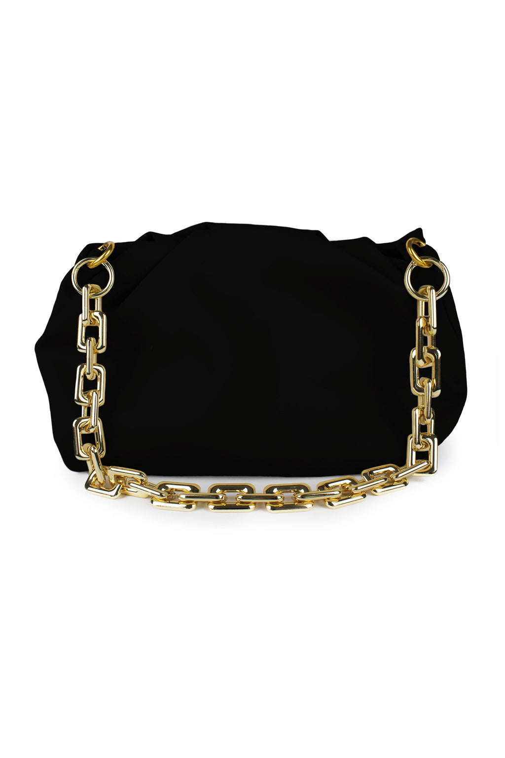 NAOMI BAG - BLACK LEATHER - DUCIE LONDON