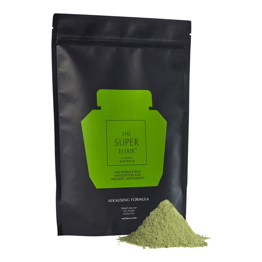 SUPER ELIXIR GREENS - ORIGINAL - POUCH 300g - WELLECO