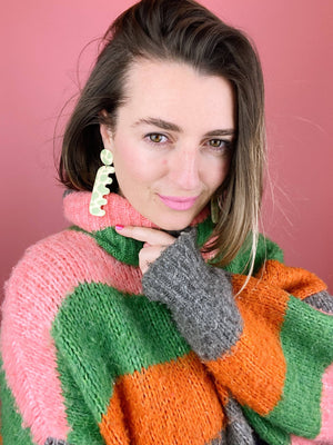 Slime Cow Earrings