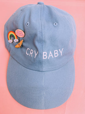 Cry Baby Hat in Blue