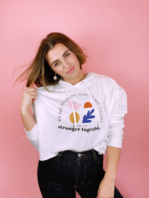 Stronger Together Cropped Sweatshirt