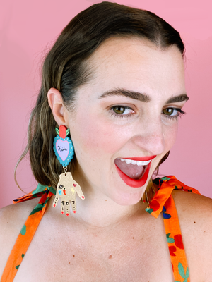 Frida Freak Dangles