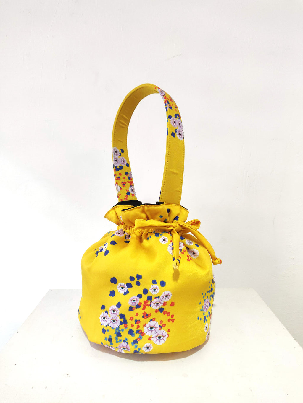 FLORA VISION BUCKET BAG - YELLOW