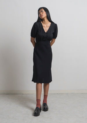 CHALEUR DRESS - Black