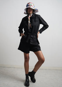 CHANTRELLE JACKET - Licorice