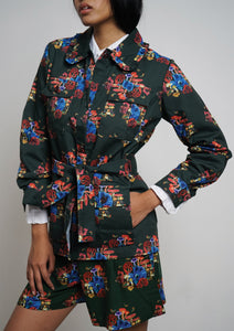 CHANTRELLE JACKET - Print