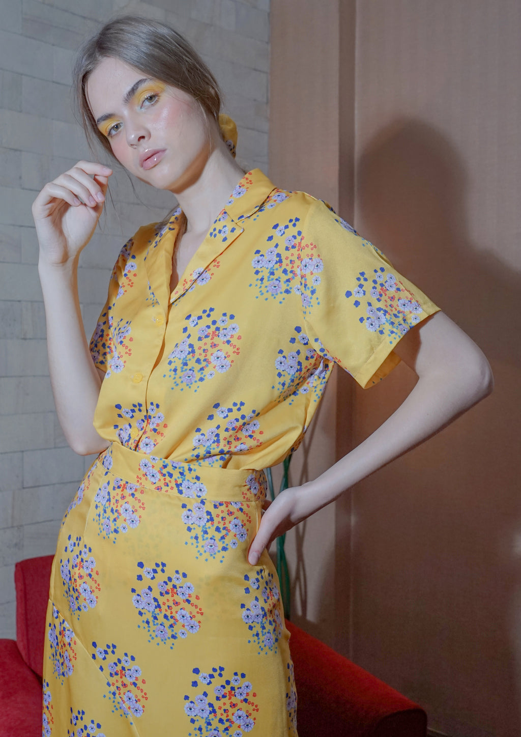 FLORA VISION SHIRT (YELLOW)