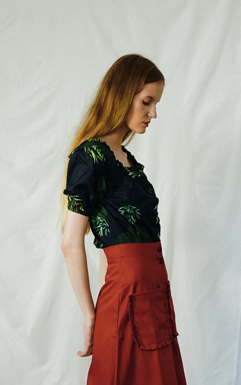 FOLIAGE BLOUSE