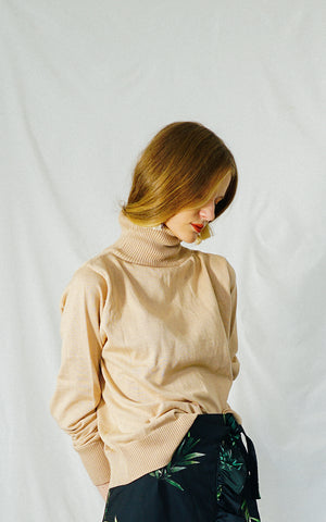 HEATHER SWEATER (BEIGE)