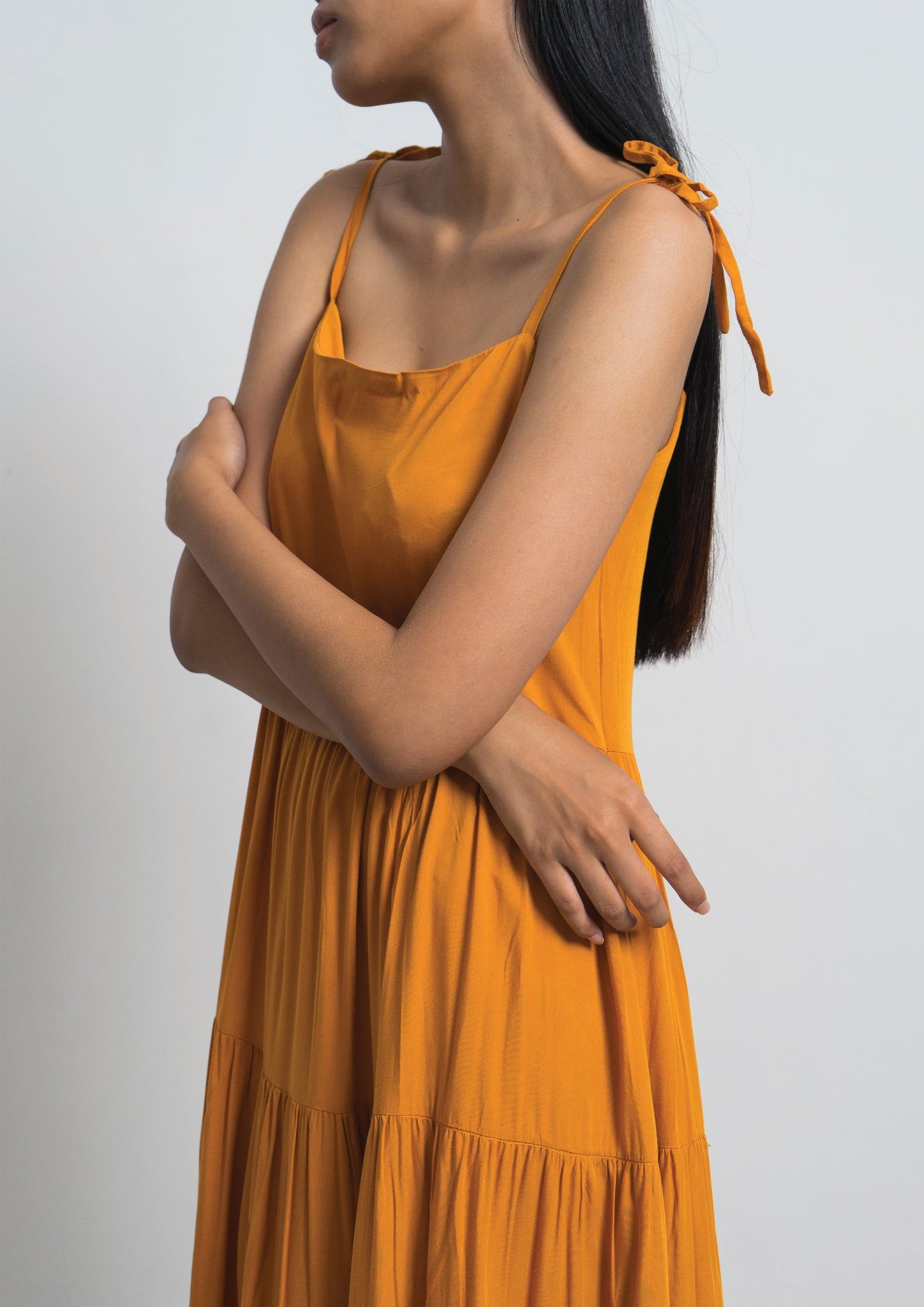 JOUR DRESS - Turmeric
