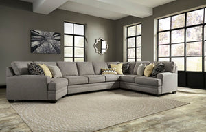 CRESSON Contemporary Sectional (W/ Laf Cuddler)