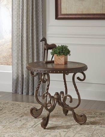 RAFFERTY Traditional End Table