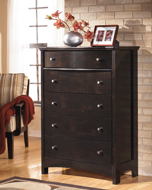 HARMONY Contemporary 5 Drawer Chest