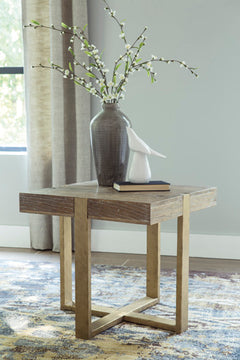 PALUXY Casual End Table