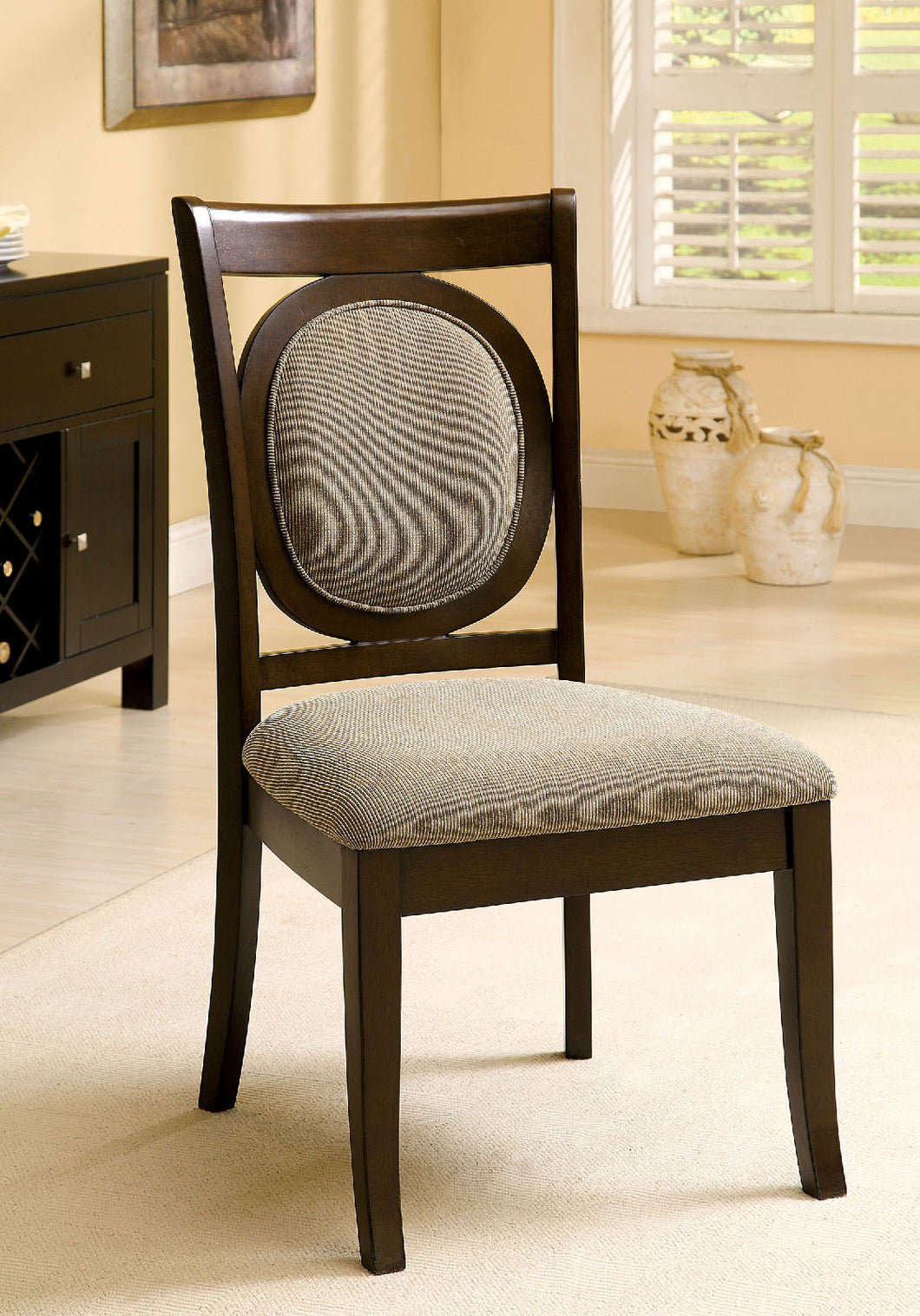EVELYN Contemporary Dining Chair (Set of 2)