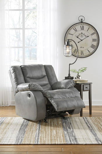 NEVERFIELD Contemporary Rocker Recliner