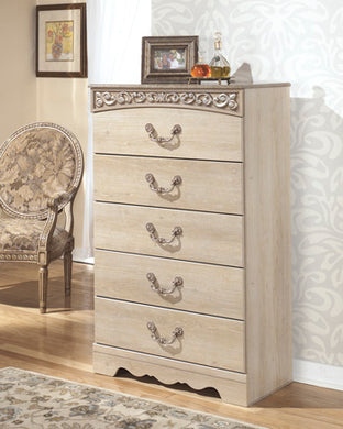 CATALINA Traditional 5 Drawer Chest