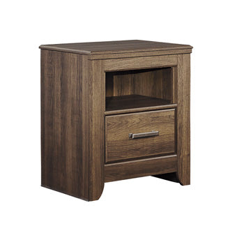 JUARARO Casual One Drawer Nightstand