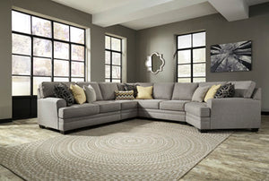 CRESSON Contemporary Sectional (W/ Raf Cuddler)