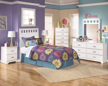 LULU Casual Two Drawer Nightstand