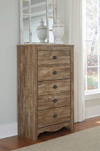 SHELLINGTON Traditional 5 Drawer Chest