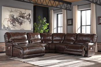 KILLAMEY Contemporary Sectional (W/ Laf Chaise)