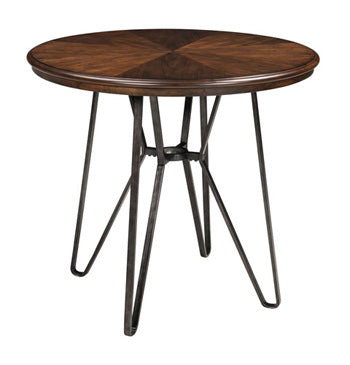 CENTIAR Casual Round Counter Height Table