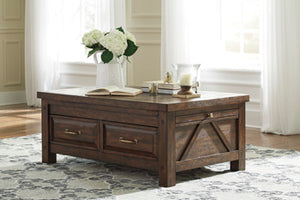 WINDVILLE Traditional Coffee Table