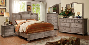 BELGRADE Rustic Panel/Storage Bed