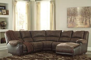 NANTAHALA Contemporary Sectional (W/ Raf Chaise)