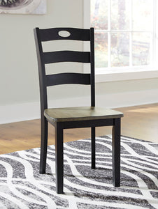 FROSHBURG Casual Dining Chair (Set of 2)