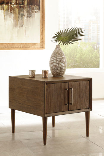 KISPER Contemporary End Table
