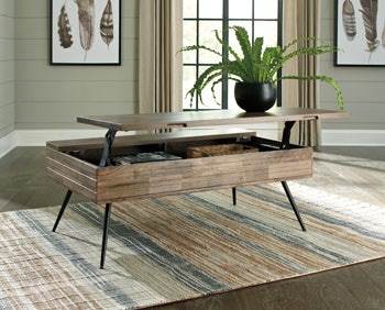 KARMONT Contemporary Coffee Table