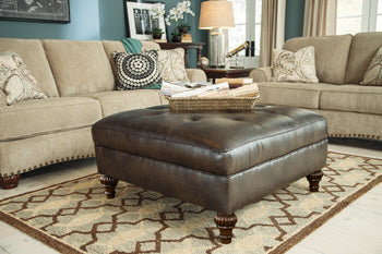 ALMA BAY Casual Oversized Ottoman