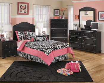 JAIDYN Youth Two Drawer Nightstand