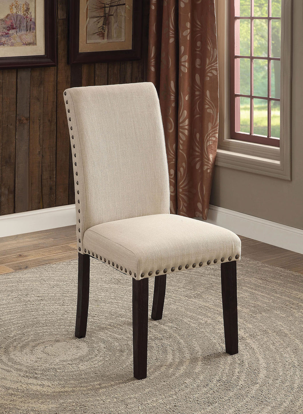 DODSON I Transitional Dining Chair (Set of 2)