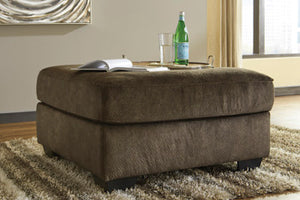 ACCRINGTON Contemporary Oversized Ottoman