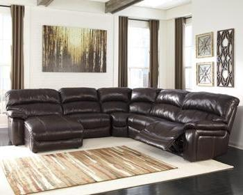 DAMACIO Contemporary Power Sectional (W/ Laf Chaise)
