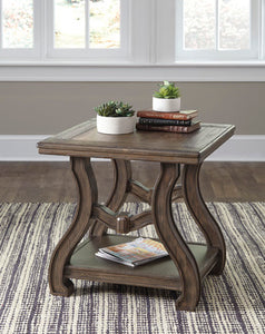 TANOBAY Traditional End Table