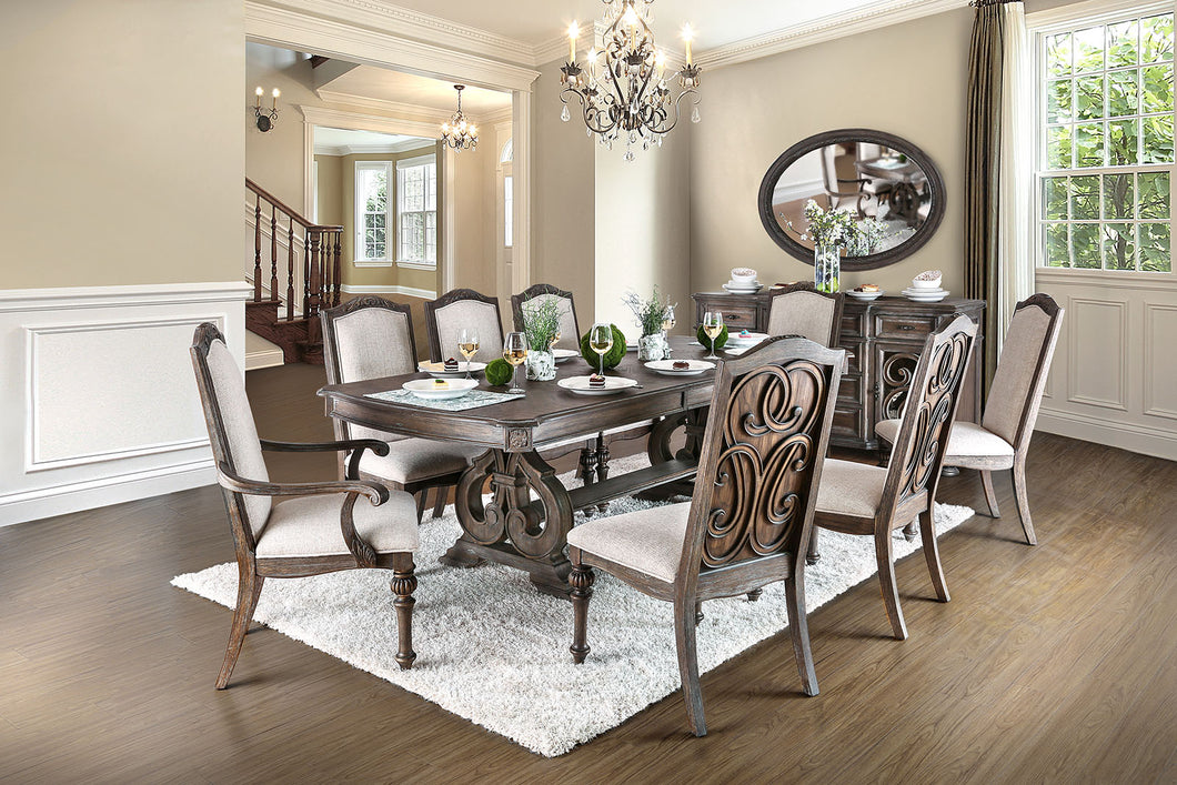 ARCADIA Transitional Dining Table