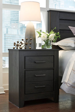 BRINXTON Casual Two Drawer Nightstand