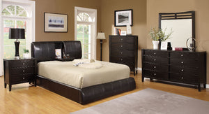 WEBSTER Contemporary Bed