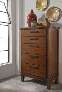 RALENE Contemporary 5 Drawer Chest
