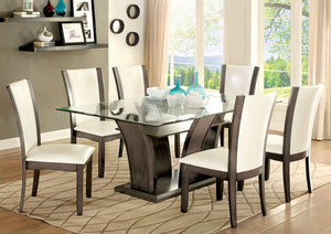 MANHATTAN I Contemporary Round Dining Table