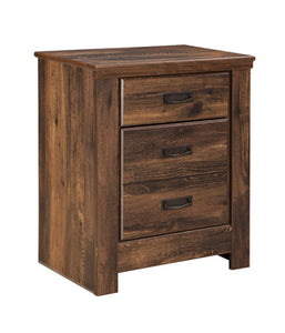QUINDEN Casual Two Drawer Nightstand