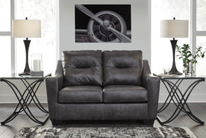 KENSBRIDGE Contemporary Love Seat