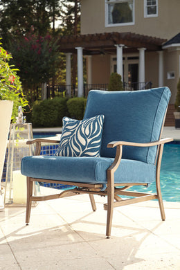 PARTANNA Contemporary Outdoor Chair x2