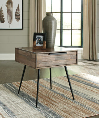 KARMONT Contemporary End Table